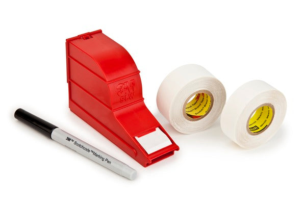 3M™ ScotchCode™ Wire Marker Write-On Dispenser with Tape and Pen SWD, 0.75 in x 1.375 in, 10/Case