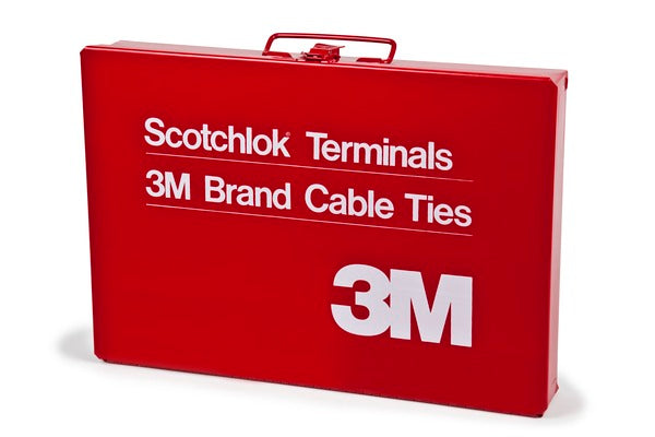 3M™ Scotchlok™ Steel Empty Terminal Box, Red, made of steel for durability, 6/Case