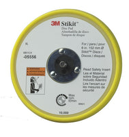 3M™ Stikit™ Low Profile Disc Pad, 05556, 6 in x 3/8 in x 5/16-24 External, 10 per case