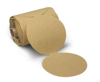 3M™ Stikit™ Paper Disc Roll 236U, P240 C-weight, 5 in x NH, Die 500X, 100 discs per roll, 4 per case