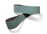 3M™ Trizact™ Cloth Belt 363FC, A160 YF-weight, 9 in x 107 in, Film-lok, Full-flex