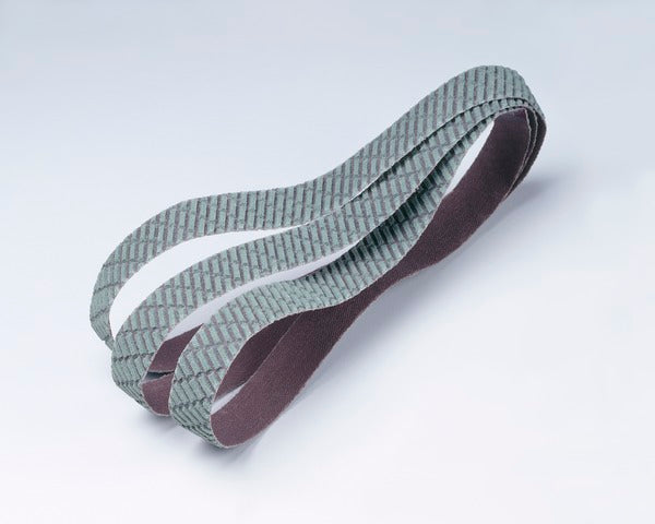 3M™ Trizact™ Cloth Belt 327DC, A45 X-weight, 4 in x 132 in, Film-lok, No Flex