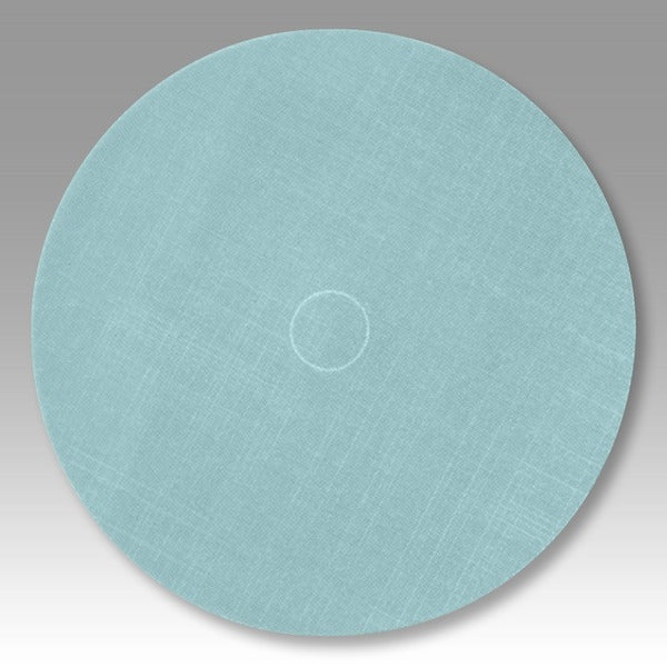 3M™ Trizact™ Hookit™ Film Disc 268XA, A10, Blue, 11-1/4 in x NH, Die 1125E, 25 per case