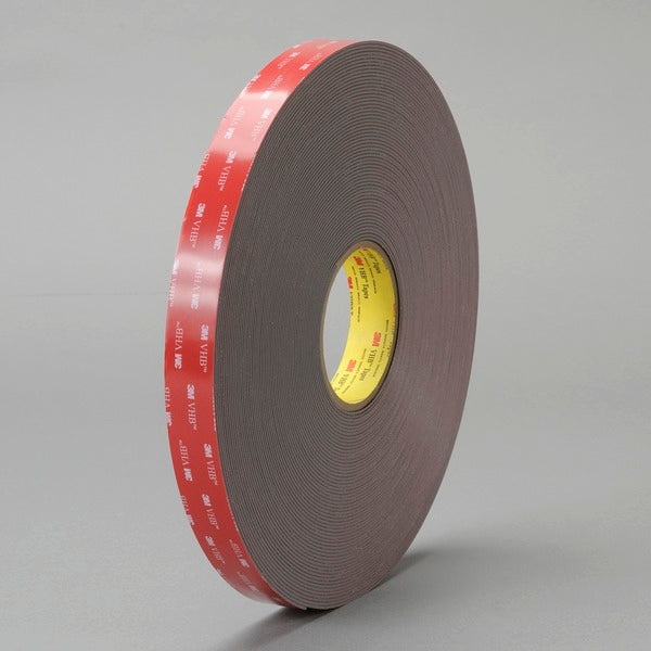 3M™ VHB™ Tape 4979F, Black, 3/4 in x 36 yd, 62 mil, Film Liner, Small Pack, 3 rolls per case