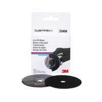 3M™ Cubitron™ II Cut-Off Wheel, 33456, 75 mm x 1 mm x 9.53 mm (3 in x .04 in x 3/8 in), 5 wheels per carton, 6 cartons per case