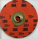 3M™ Cubitron™ II Roloc™ Durable Edge Disc 984F, TSM, 2 in 36+ YF-weight, 27705, 50 per box