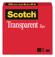 Scotch® Transparent Tape 600, 1 in x 2592 in