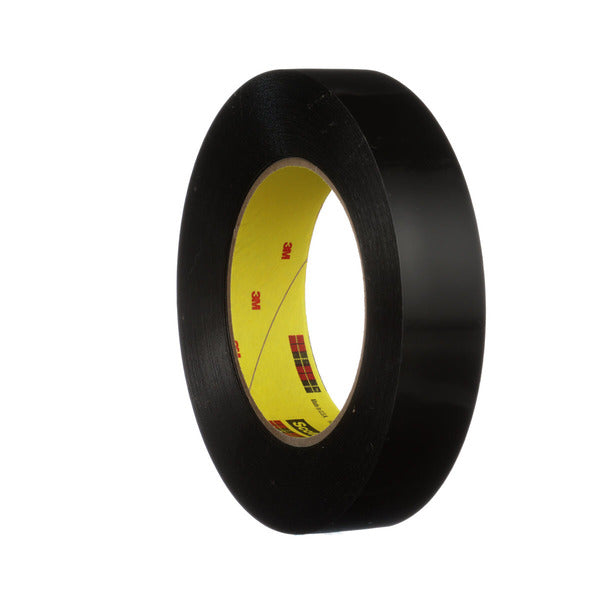 3M™ Preservation Sealing Tape 481, Black, 2 in x 36 yd, 9.5 mil, 24 rolls per case
