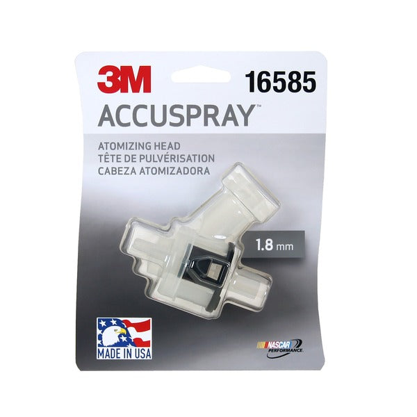 3M™ Accuspray™ Atomizing Head, 16585, Clear, 1.8 mm, 10 per case