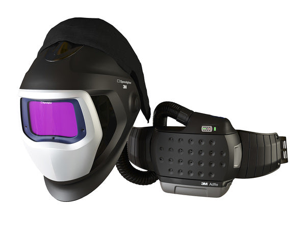 3M™ Adflo™ Powered Air Purifying Respirator HE System with 3M™ Speedglas™ Welding Helmet 9100-Air, 35-1101-30SW, 1 ea/Case
