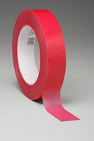 3M™ Circuit Plating Tape 1280 Red, 1/2 in x 144 yds x 4.2 mil, 18/Case, Bulk