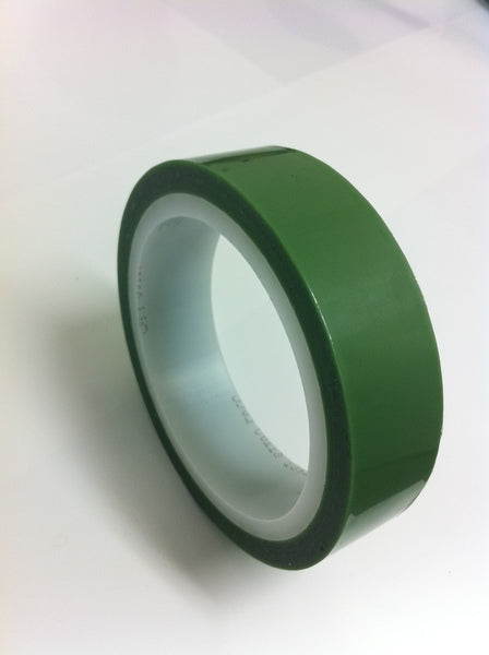 3M™ Greenback Printed Circuit Board Tape 851 Green, 8 in x 72 yds x 4.0 mil, 4/Case