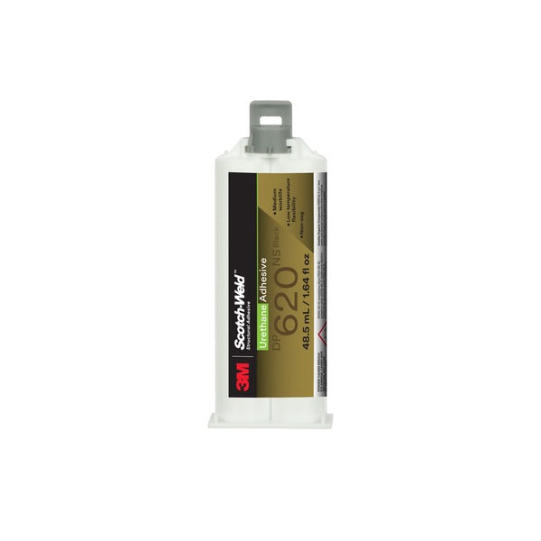 3M™ Scotch-Weld™ Urethane Adhesive DP620NS, Black, 48.5 mL Duo-Pak, 12/case