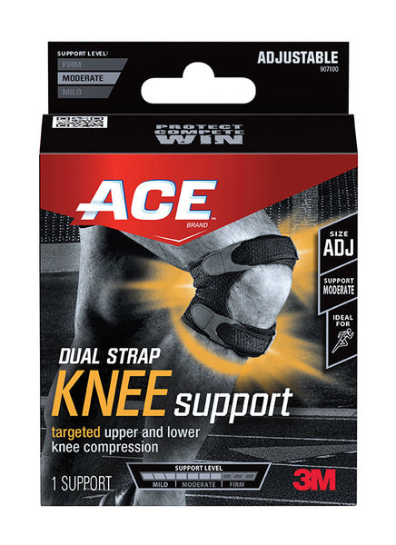 ACE™ Dual Strap Knee Support, 907100, Adjustable