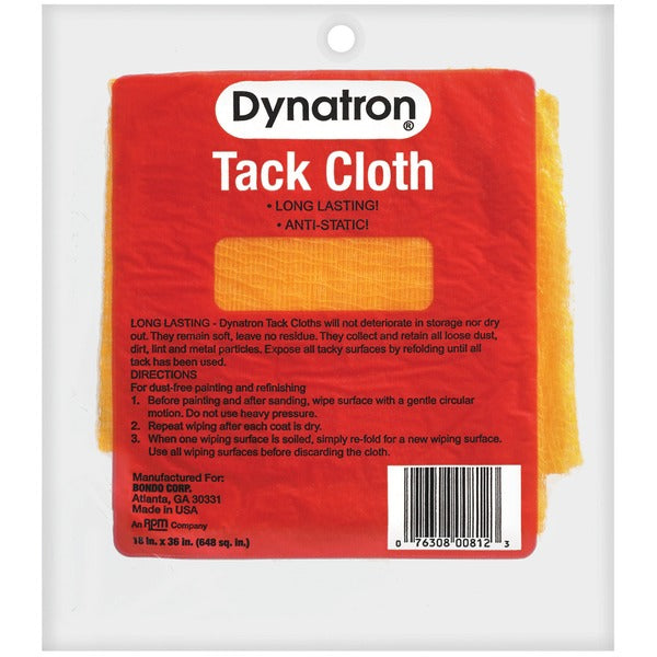 Dynatron™ Boxed Tack Cloth, 00812, 12 tack cloths per carton, 12 cartons per case