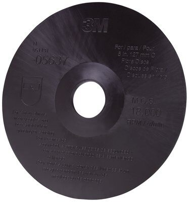 3M™ Fibre Disc Backup Pad, 05637, 5 in x 7/8 in