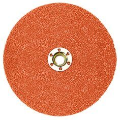 3M™ Cubitron™ II Fibre Disc 987C, TN Quick Change, 4-1/2 in, 80+