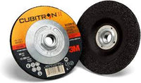 3M™ Cubitron™ II Depressed Center Grinding Wheel, 66594, T27 Quick Change, 7 in x 1/4 in x 5/8-11 in