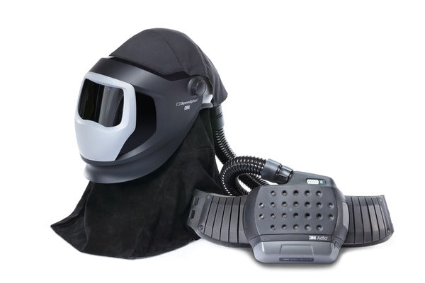 3M™ Adflo™ PAPR and Versaflo™ M-Series Helmet Kit w Speedglas™ Welding Shield, 38-1101-00SW, Li Ion Battery, (No ADF) 1 EA/CASE
