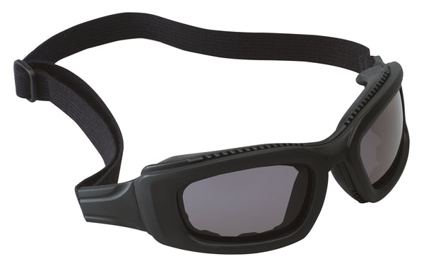 3M™ Maxim™ 2x2 Safety Goggles 40687-00000-10 Gray Anti-Fog Lens, Black Frame, Elastic Strap 10 EA/Case
