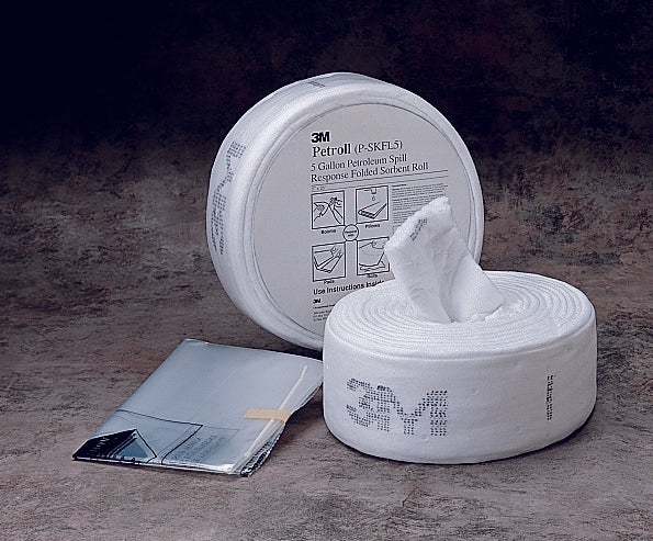 3M™ Petroleum Sorbent Spill Kit P-SKFL5, Petrol, 5 Gallons, 3 Each/Case