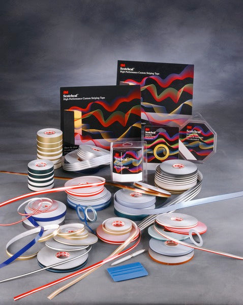 3M™ Scotchcal™ Striping Tape  72714,  Light Slate Metallic, 1/2 in x 150 ft