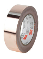 3M™ Copper Foil EMI Shielding Tape 1194, 6 in x 36 yds, 3 in Paper Core, 2 Rolls/Case
