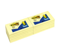 Post-it® Pop-up Dispenser Notes R350-YW, 3 in x 5 in (7.62 cm x 12.7 cm) Canary Yellow