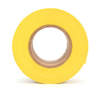 Scotch® Barricade Tape 358, CAUTION HIGH VOLTAGE, 3 in x 1000 ft, Yellow, 8 rolls/Case