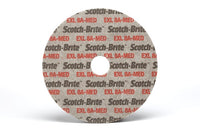 Scotch-Brite™ EXL Unitized Wheel, XL-UW, 8A Medium, 6 in x 1 in x 1/2 in, 2 per case