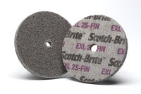 Scotch-Brite™ EXL Unitized Wheel, XL-UW, 2S Fine, 2 in x 1/2 in x 1/4 in, SPR 21232B, 30 per case
