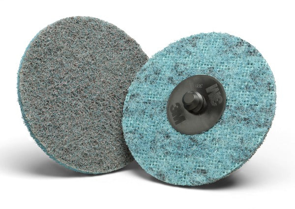 Scotch-Brite™ Roloc™ AL Surface Conditioning Disc TSM, 3 in x NH A VFN, 25 per inner 100 per case
