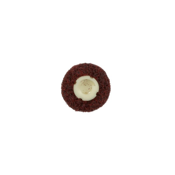 Scotch-Brite™ Roloc™ Surface Conditioning Disc, TS, 3/4 in x NH A MED Reverse Button, 50 per inner, 200 per case