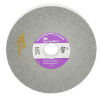 Scotch-Brite™ EX3 Deburring Wheel, 6 in x 1/2 in x 1 in 9S FIN, 4 per case