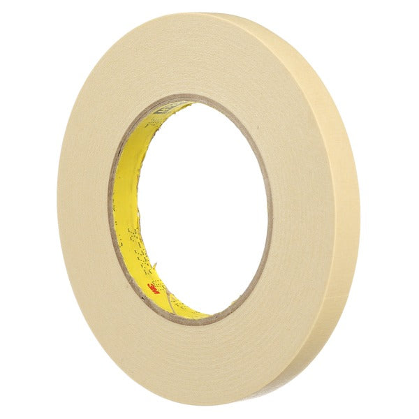 3M™ Paint Masking Tape 231/231A, Tan, 36 mm x 55 m, 7.6 mil, 24 per case