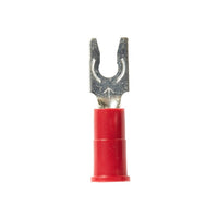3M™ Scotchlok™ Locking Fork Vinyl Insulated, 100/bottle, MV18-4FLX, spring-like tongue firmly fits around the stud, 500/Case