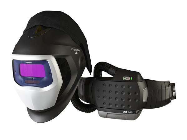 3M™ Adflo™ Powered Air Purifying Respirator HE System with 3M™ Speedglas™ Welding Helmet 9100-Air, 35-1101-10SW, 1 ea/Case