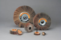 Standard Abrasives™ A/O Flexible Flap Wheel 613328, 2 in x 3/4 in x 1/4 in 120, 10 per inner 100 per case
