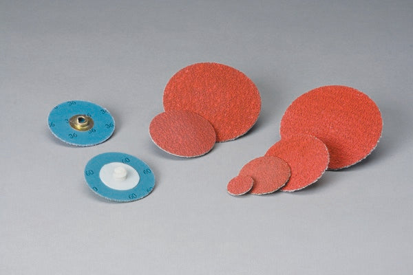 Standard Abrasives™ Quick Change TS Ceramic 2 Ply Disc 525115, 3/4 in 60, 100 per inner 1000 per case