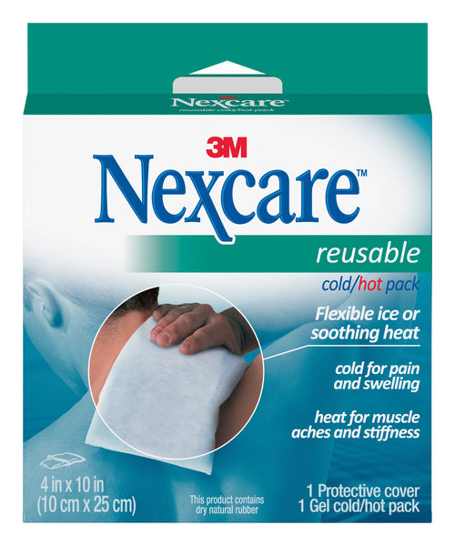 Nexcare™ Cold/Hot Pack 2671PEG, 4 in x 10 in
