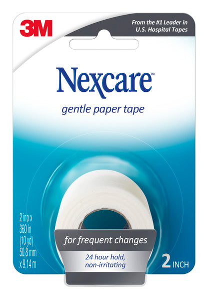 Nexcare™ Gentle Paper First Aid Tape, 782, 2 in x 10 yd