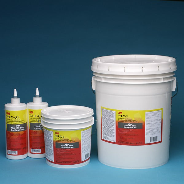 3M™ Wire Pulling Lubricant Wax `WLX-5, Five Gallons, 1/DR