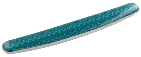 3M™ Gel Wrist Rest for Keyboard, Chevron Design, WR308-GR