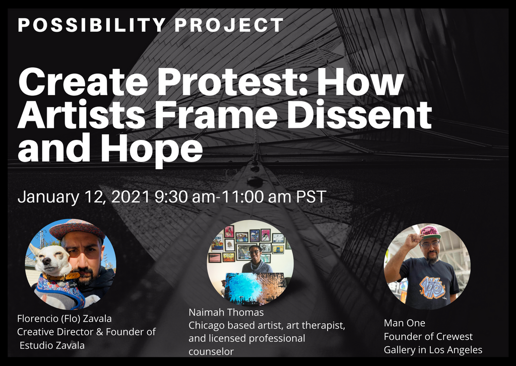 Create Protest: How Artists Frame Dissent and Hope
