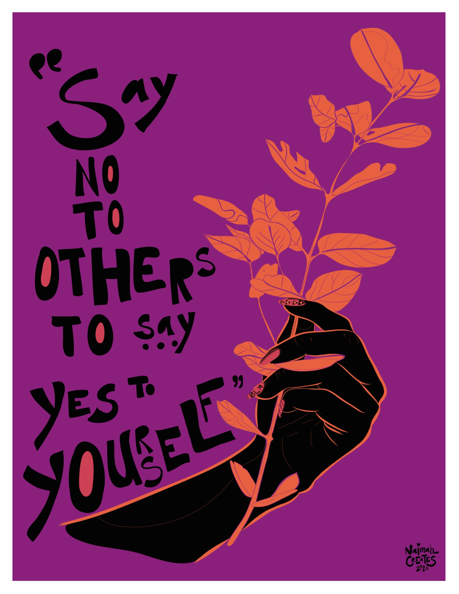 Say No to Others to Say Yes to Yourself : Your Boundaries Matter (2020)