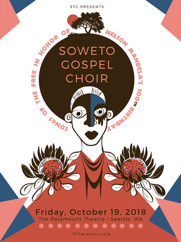 Soweto Gospel Choir Screen Print Signed