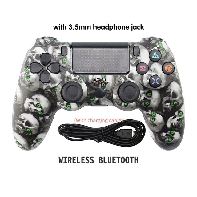 DATA FROG Wireless Bluetooth Gamepad For SONY Playstation 4 PS4 Controller Wired/Wireless Joystick For Dualshock 4 Gamepad