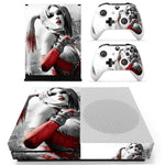 Suicide Squad Harley Quinn Skin Sticker Decal Cover For Xbox One S Console & Controllers For Xbox One Slim Skins Stickers Vinyl