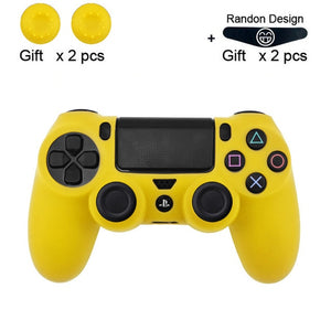 Soft Flexible Cover Silicone Case Protection Skin For Playstation 4
