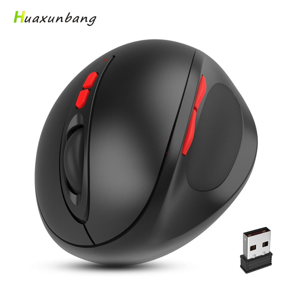 2.4G Wireless Mouse vertical Ergonomic Mouse 7 Key Gaming Mause Gamer Rechargeable Mouse AAA Version Mice For PC macbook Laptop